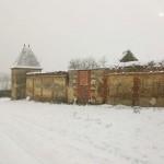 Les remparts du château de Raconis